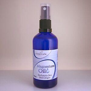 Magnesium Oil Spray 100ml  For aches & Pains  Best Use Transdermally Zechstein