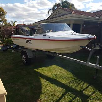 15' RUNABOUT with 40HP Mariner