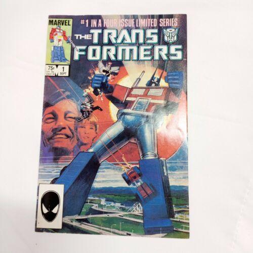 Transformers #1 1984 Marvel Comics Ungraded Direct edition