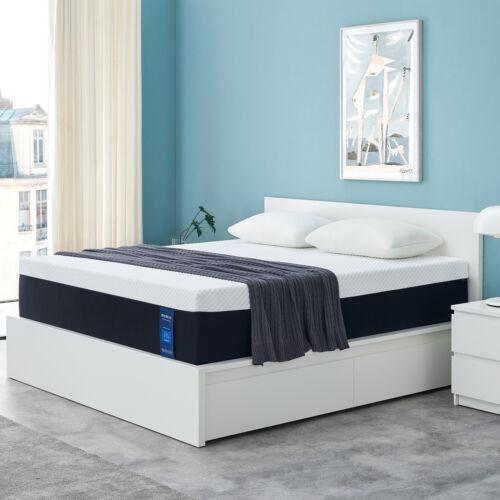 Queen Size 10 Inch Gel Memory Foam MattressWithCertiPUR-