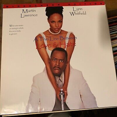 """A Thin Line Between Love And Hate / widescreen - 12""""  Laserdisc"""