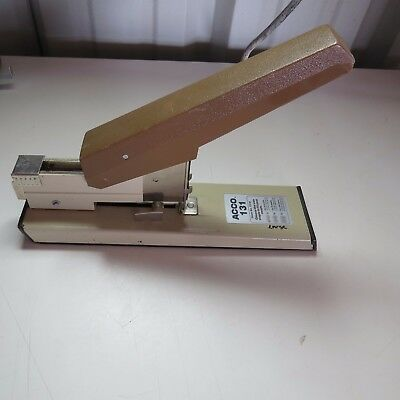 Acco 131 Heavy Duty Industrial Desk Stapler Tested Working