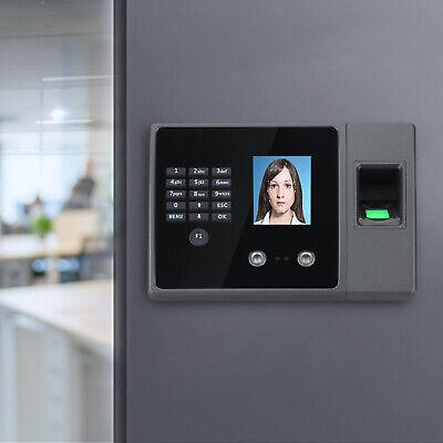 Face Fingerprint Attendance Machine Time Clock Employee Checking-in Reader Fa20