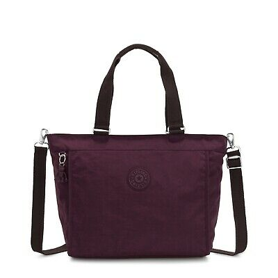 Kipling Shopper Bag NEW SHOPPER L DARK PLUM FW19   RRP £83