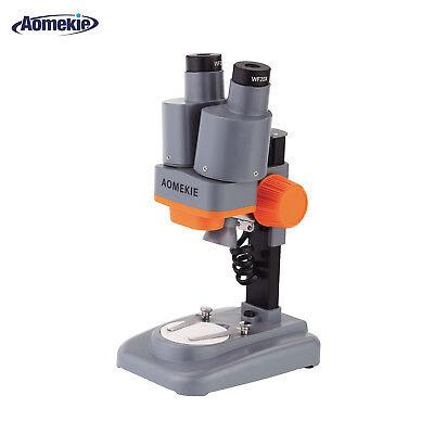 20x Binocular Stereo Microscope Led Pcb Soldering Tool Mobile Phone Repair