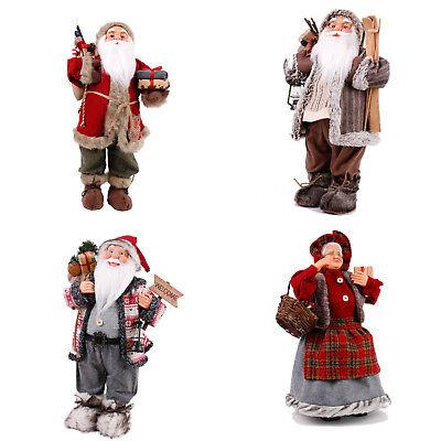 weihnachtsmann deko santa clause weihnacht nikolaus figur. Black Bedroom Furniture Sets. Home Design Ideas