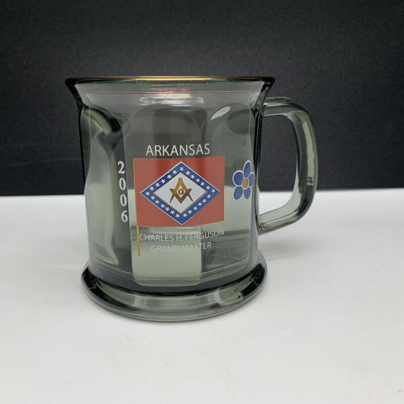 2006 Arkansas Masonic Coffee Mug - Charles H. Ferguson Grand Master -Made in USA
