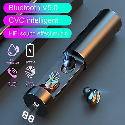 Mini bluetooth 5.0 Earbuds Twins Wireless Headset sport Stereo In-ear Headphones