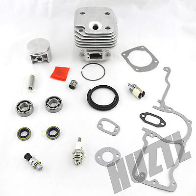 52MM NIKASIL CYLINDER PISTON WT PIN BEARING FOR HUSQVARNA 272 272K 272XP 268 NEW on Rummage