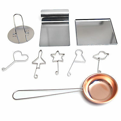 Korean Sugar Candy Dalgona Bpopgi Cooking Set Stainless Steel Cook Kitchen Tool