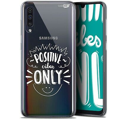 "Coque Gel Samsung Galaxy A50 (6.4"") Extra Fine - Positive Vibes Only"