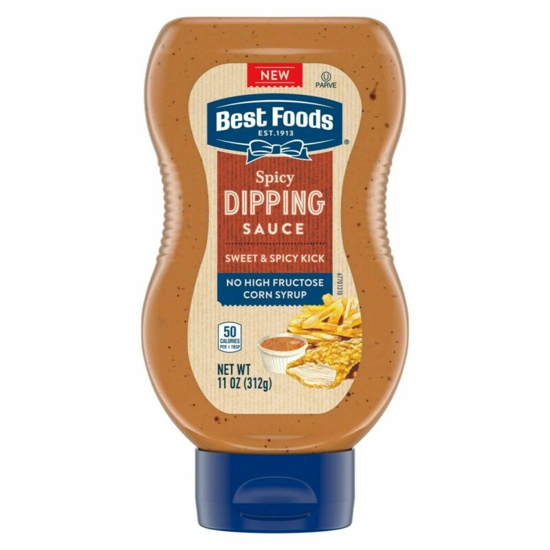 Hellmann's Spicy Dipping Sauce Condiment 11 oz, ( Pack of 6 ) EXP 08/18/2020
