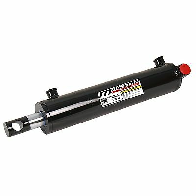 Hydraulic Cylinder Welded Double Acting 2 Bore 8 Stroke Pineye End 28