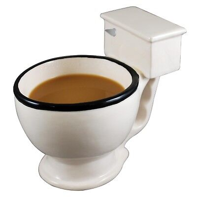The Original Toilet Coffee Mug / Candy Dish Dog Water or Food Bowl