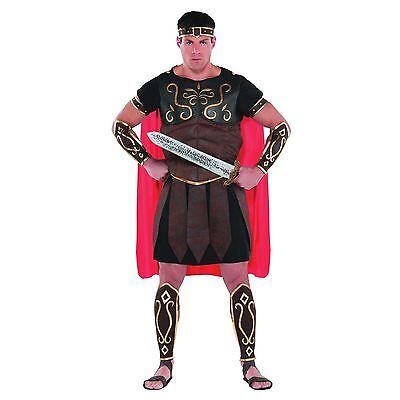 M L XL Zenturio Soldaten Kostüm Grichischer Römischer Gladiator Herren Outfit ()