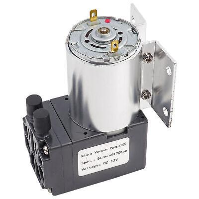 Mini Vacuum Pump 5lmin 120kpa Dc12v Negative Pressure Suction Pump With Holder