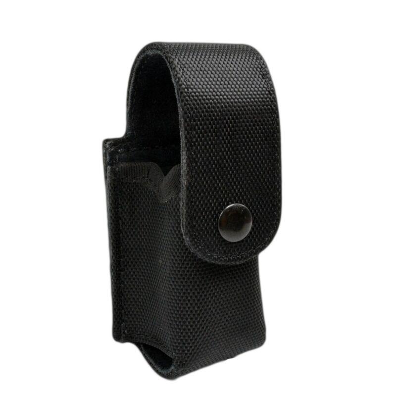 Nylon 2 Oz Mace Canister Holder MK3 Police Pepper Spray Holder Black Snap