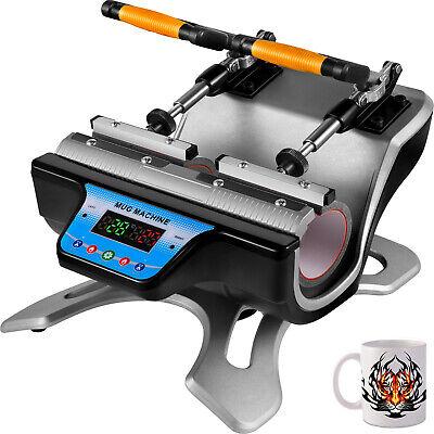 2in 1 Mug Heat Press 11oz Digital Sublimation Transfer For Diy Coffee Cup 280w