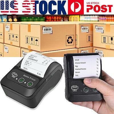 Portable Bluetooth Mobile Thermal Receipt Printer Wireless Pocket Mobile Pos