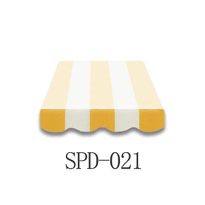 Volant Markisen Markisenbespannung Ersatzstoff Markise 4 m Neu NUR VOLANT SPD021