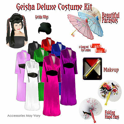 ze Halloween Costume Accessory Kit 1x 2x 3x 4x 5x 6x 8x (3x Plus Size Halloween-kostüme)