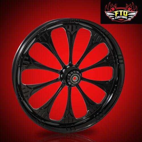 "Harley Davidson 30 Inch Black Front Wheel ""warlock"""