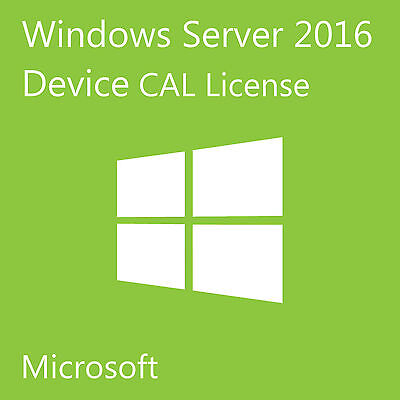 Msft Window Server Msft 2016 R2 Rds 50 Device Cal Remote Desktop Services