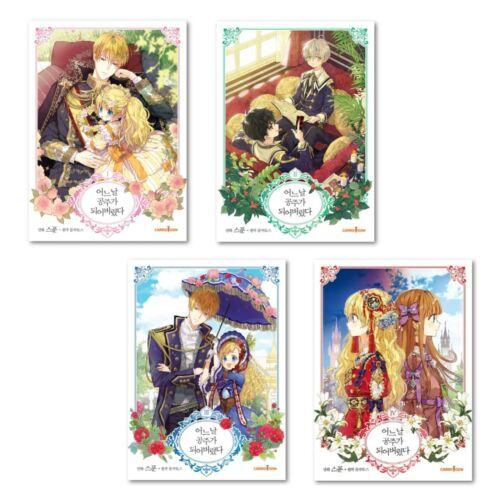 Who Made Me a Princess Vol 1-4 Original Korean Webtoon Book Manga Manhwa WMMAP