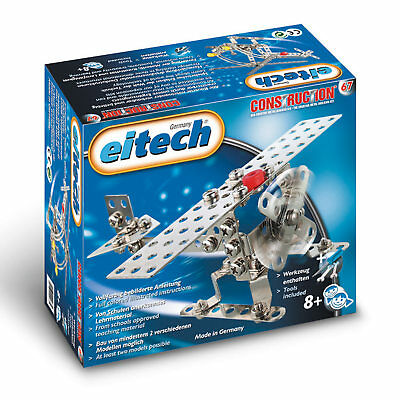 EITECH Starter Metallbaukasten Flugzeug/ Helikopter