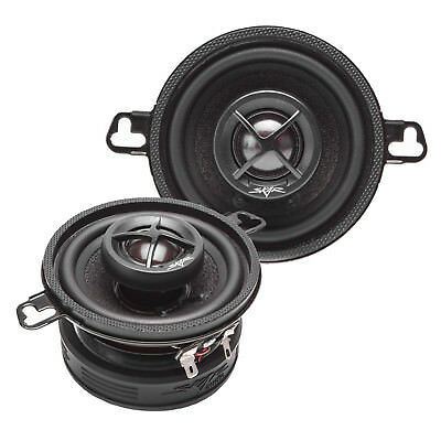 BAGONG SKAR AUDIO SK35 120 WATT MAX 3.5-INCH 2-WAY CAR COAXIAL SPEAKERS - PAIR