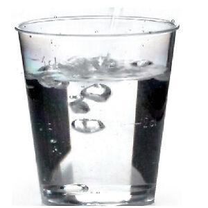 150 Schnapsbecher 2cl - 4cl Schnapsgläser, 50ml Schnapsglas klar Kunststoff