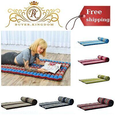 Comfortable Roll Up Massage Pad Thai Mattress Organic Guest Bed Yoga Floor