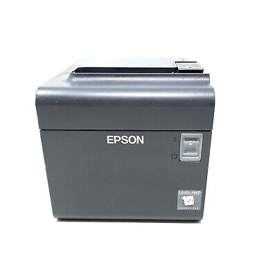 Epson Tm-l90 M313a Pos Point Of Sale Label Thermal Printer W Power Cable Tested
