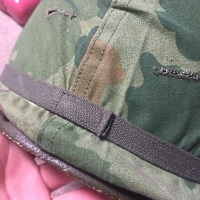 Original Vietnam US Army M1 Helmet Cover Elastic Head Band