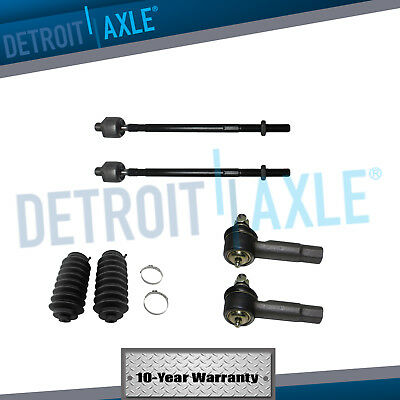 All 4 Inner  Outer Tie Rods  Tie Rod Boots for Nissan Maxima