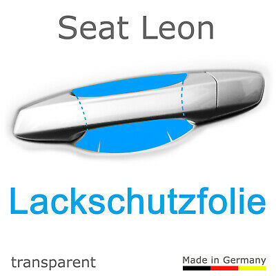 Schutzfolie Aufkleber Türgriff Griffmulde / Seat Leon 5F Bj. 2015-2019