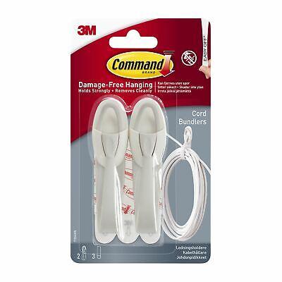 Command Cordeleros de Blanco - Colgar sin Daño - Organizar los Cables