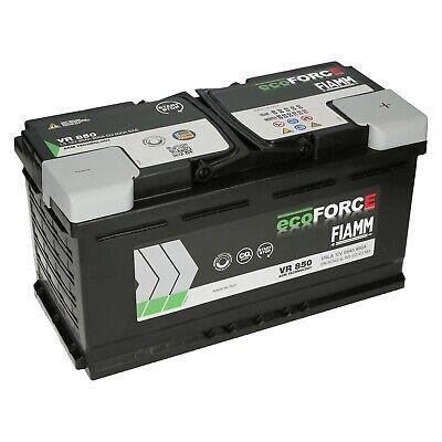 FIAMM ECOFORCE 12V 95Ah AGM Batterie-Autobatterie-Starterbatterie ersetzt 100Ah