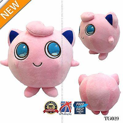 "13"" Anime Pokemon Pocket Monster Jigglypuff Stuffed Doll Cosplay Plush Toy TG029"