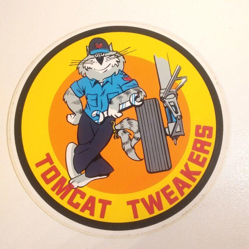 Vintage Grumman F14 Tomcat Tweakers Sticker
