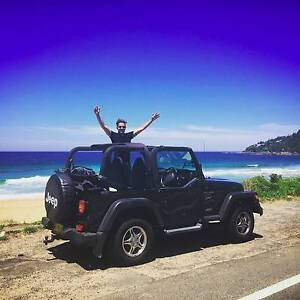 2001 Jeep Wrangler Convertible Black Coogee Eastern Suburbs Preview