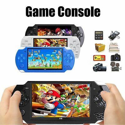 Retro Classic X6 Handheld Video Game Console Built-in 1000 Games 4.3