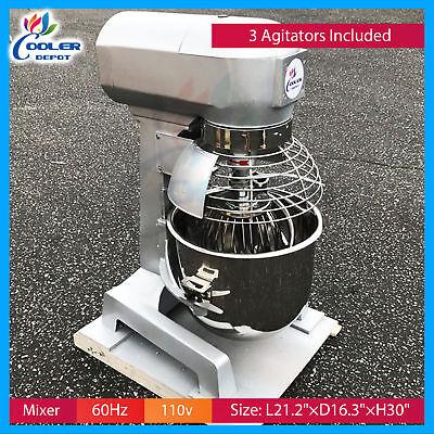 20 Qt. Gear Driven Commercial Planetary Stand Mixer Guard -110v Cooler Depot