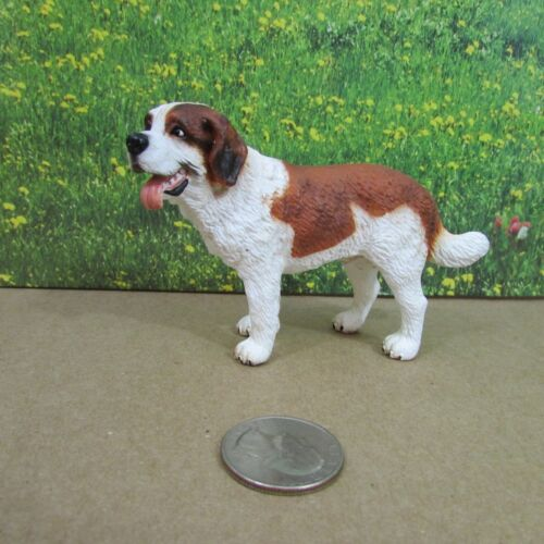 Schleich St. Saint Bernard Male Dog Retired 16379