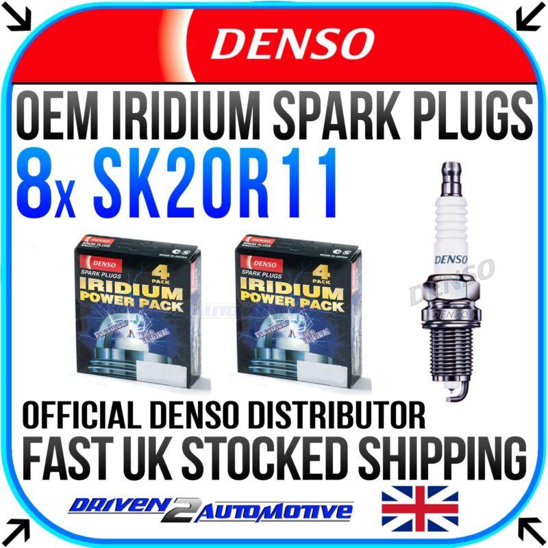 8x DENSO SK20R11 IRIDIUM SPARK PLUGS FOR LEXUS LS (UCF30) 430 10.00- 08.06