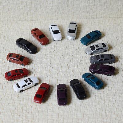 50 pcs N Scale 1:160 painted Model Cars N gauge