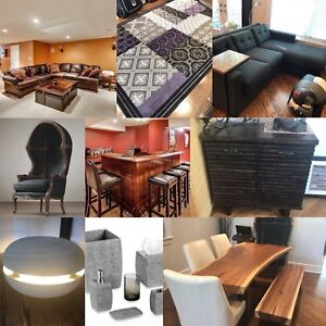 High end furniture and decor for sale!