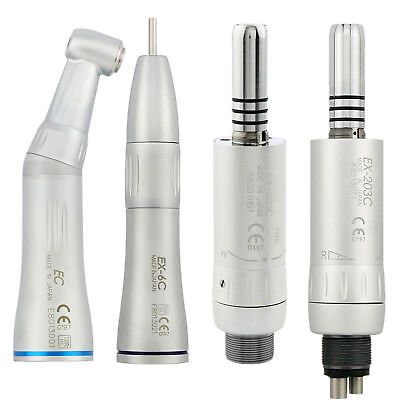 Nsk Dental Inner Water Spray Low Speed Handpiece Contra Angle Cone Air Motor