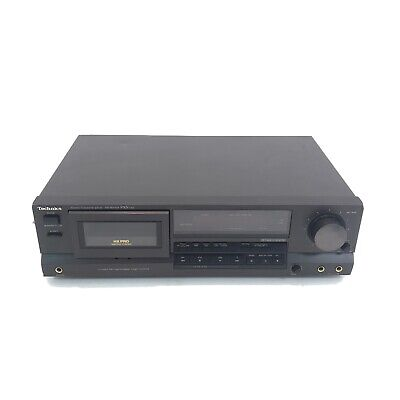 TECHNICS RS-BX404 VINTAGE HI FI SEPARATES STEREO CASSETTE RECORDER & PLAYER