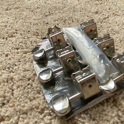 Gotoh Vintage Fender style Locking Guitar Tuners Height adjust Tuning 6 in line